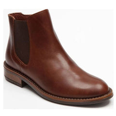 Bellamy Dark Tan Chelsea Ankle Boots