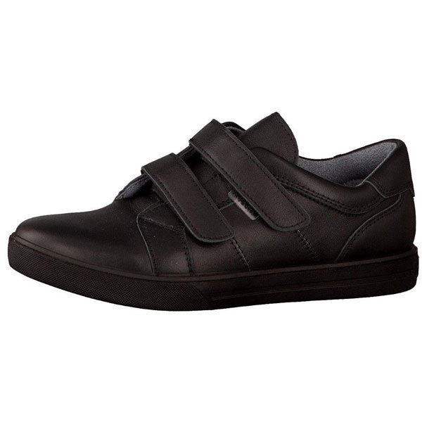 Ricosta Burt Black Velcro School Shoes