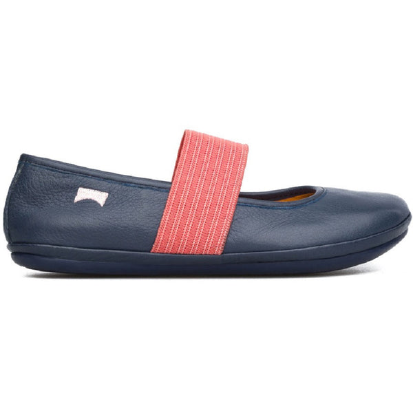 Camper Right 80025 Navy & Pink Ballerina Shoes