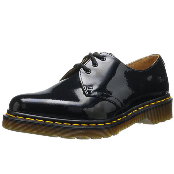 Dr Marten Classic 1461 Black Patent Lace Shoes