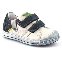 Froddo G2130098-3 White & Blue Velcro Shoes
