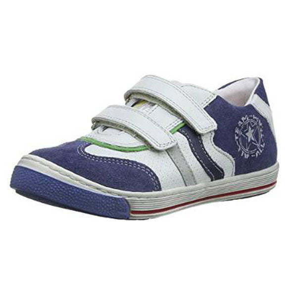 Froddo G3130052-1 White & Blue Velcro Shoes