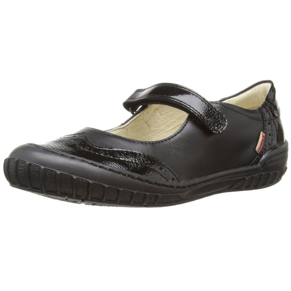 Froddo G3140007 Black Velcro School Shoes