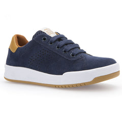Geox J Rolk J620SD Navy Trainer Style Shoes