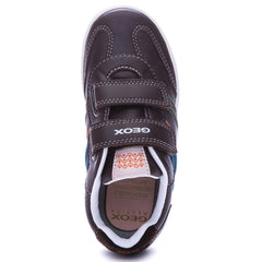 Geox J Vita J52A4A Brown Trainer Style Shoes