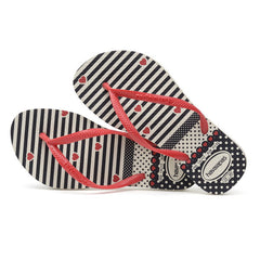Havaianas Kids Slim Fashion Heart Flip Flops