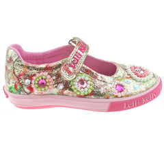 New 2017 Lelli Kelly LK4080 Candy Canvas Shoes