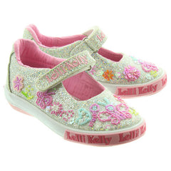 Lelli Kelly LK5076 Glitter Butterfly Girls Shoes
