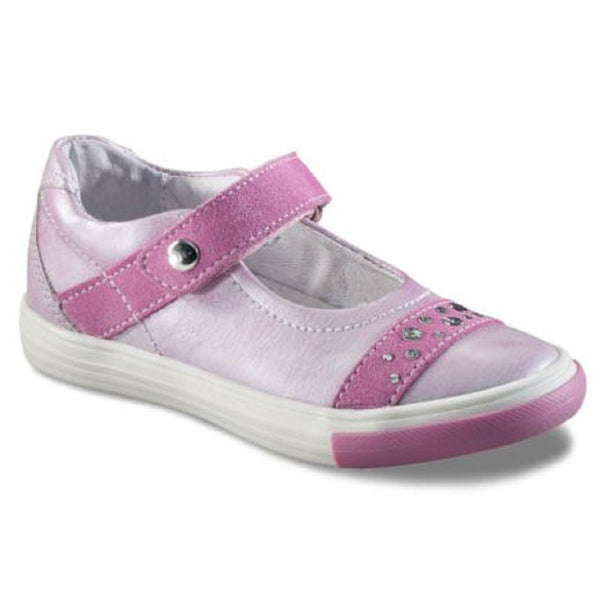 Richter 3112.521.3501 Pink Single Velcro Shoes