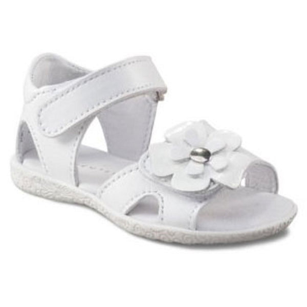 Richter 2201.524 White Patent Flower Sandal