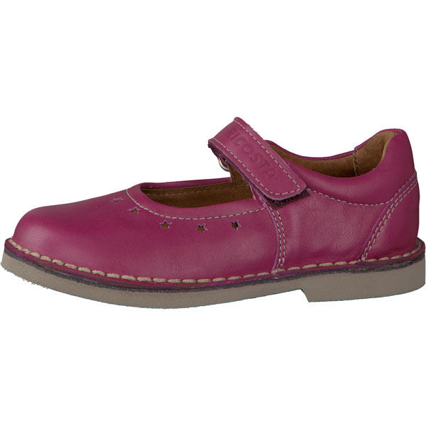 Ricosta Sabrina Deep Pink Velcro Shoes