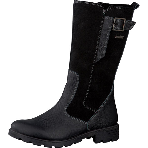 Ricosta Sophie Black Waterproof Knee Boots