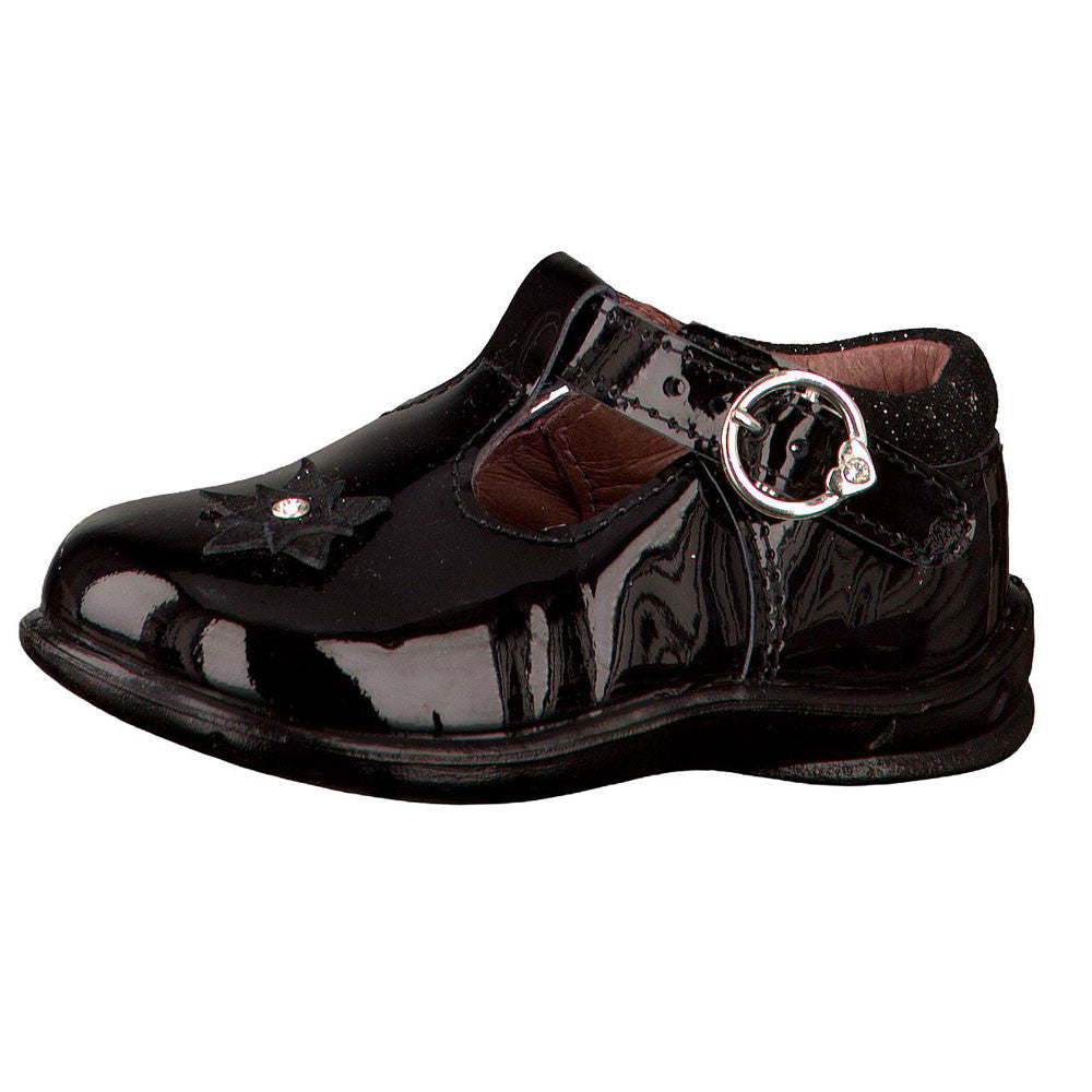 Ricosta Pepino Winsy Black Patent Shoes