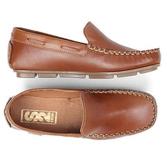Step 2wo Brad Tan Slip On Loafer Shoes