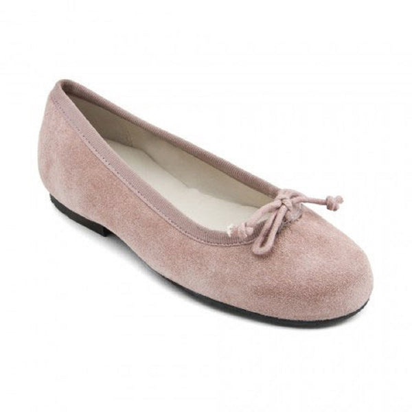 Start-rite Francesca Pink Suede Ballerina Shoes