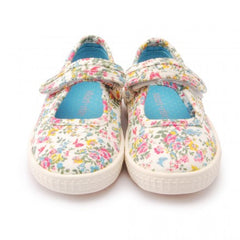 Start-rite Posy Flower Canvas Shoes