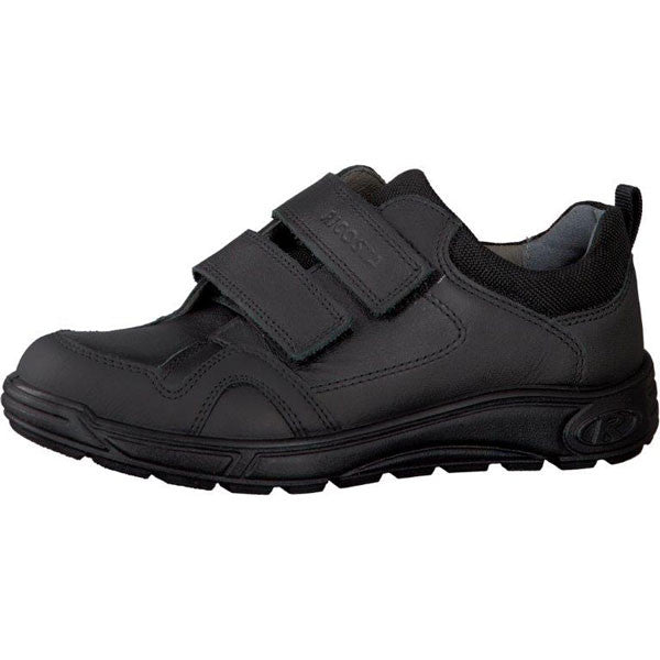 Ricosta Tamo Black Velcro School Shoes