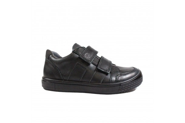 Ricosta Ethan Boys Black School Shoes