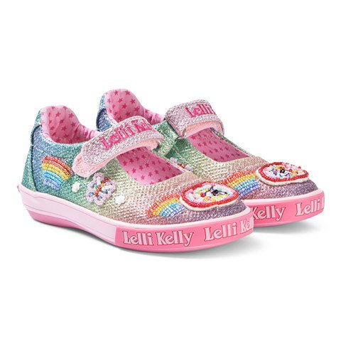 Lelli Kelly Rainbow Girls Canvas Shoes