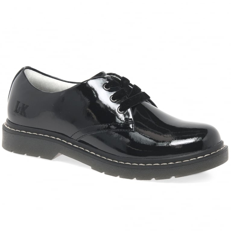 Lelli Kelly Rochelle Girls Black Patent School Shoes