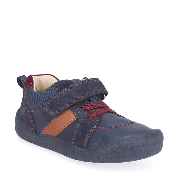 Startrite Twist Boys Navy Shoes