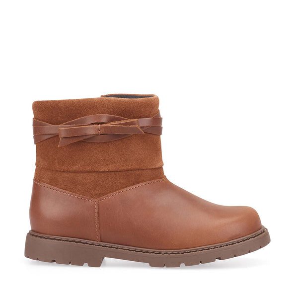Startrite Whisper Tan Girls Boots