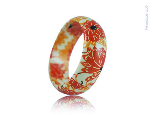 Yellow Lotus Flower EcoBangle™