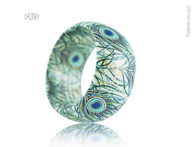 Peacock Feather EcoBangle™