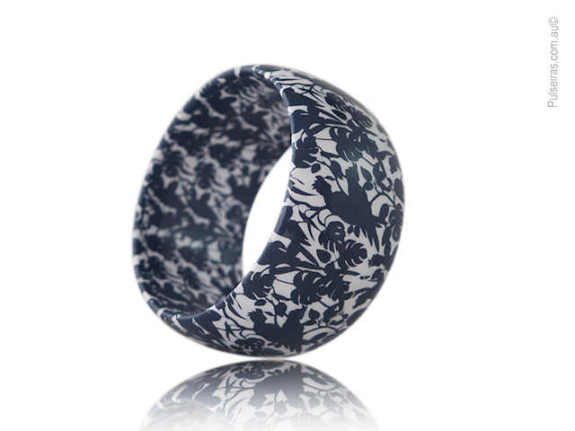 Cockatoo Navy Blue Mini EcoBangle™