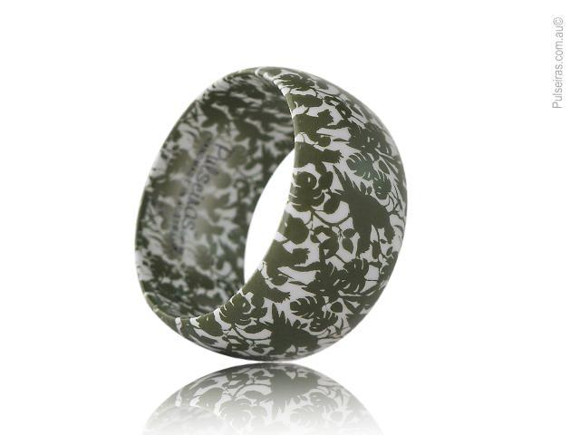 Cockatoo Olive Green mini EcoBangle™