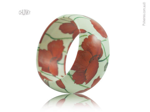 Poppy Flower EcoBangle™