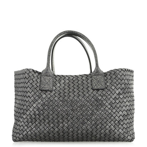 Bottega Veneta Classic Intrecciato Medium Cabat Bag