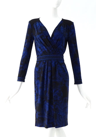 BCBG Maxazria Brand New Blue Dress XS