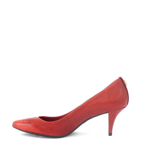 Tory Burch Red Kitten Pumps 7.5M