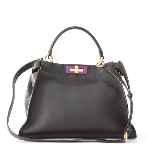 Fendi Peekaboo Black Bag