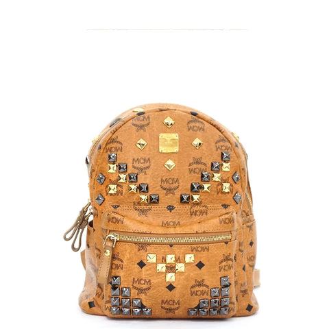 MCM Backpack Stark M Stud Small Bag
