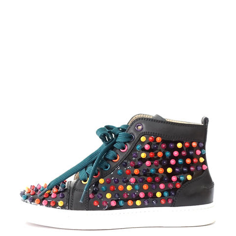 Christian Louboutin Spikes Multicolor Sneakers 36.5
