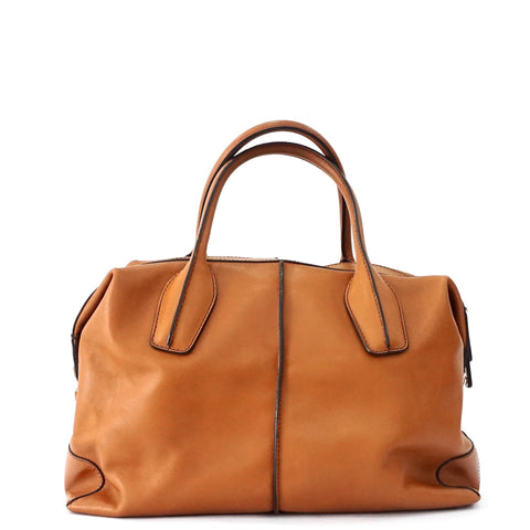 Tods Brown D Cube Bag