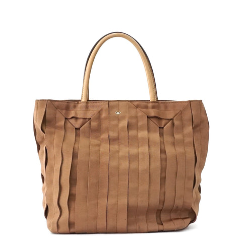 Anya Hindmarch Bronze Grosgrain Ribbon Tote