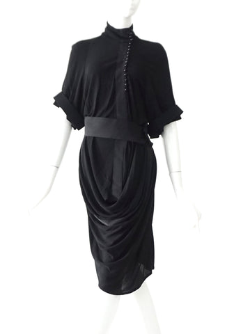 Balenciaga Black Dress 36