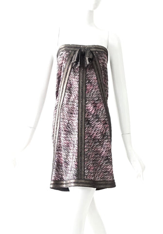 Missoni Purple Tube Dress 40