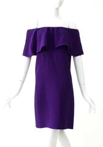 Miu Miu Purple Dress 38