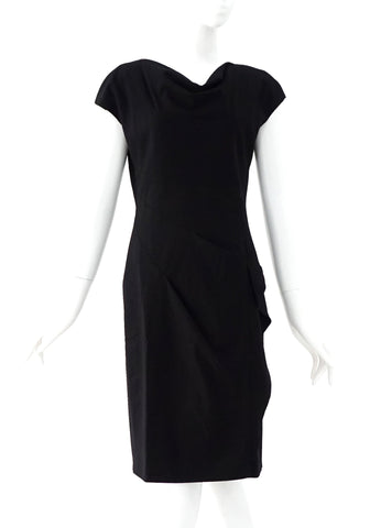 Max Mara Black Cocktail Dress 36