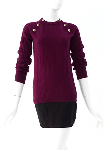 Tory Burch Purple Sweater S