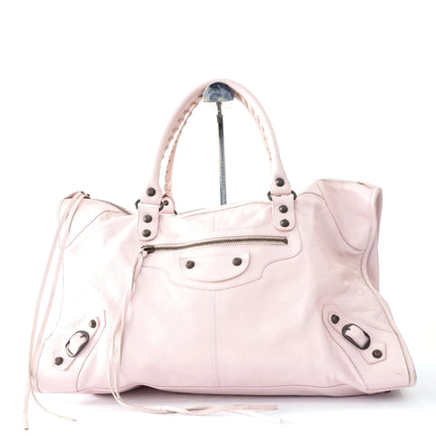 Balenciaga Baby Pink Work Bag