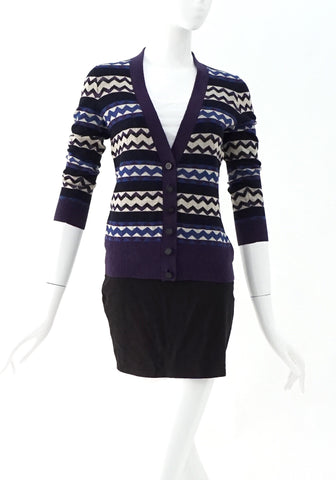 Tory Burch Blue Cardigan XS