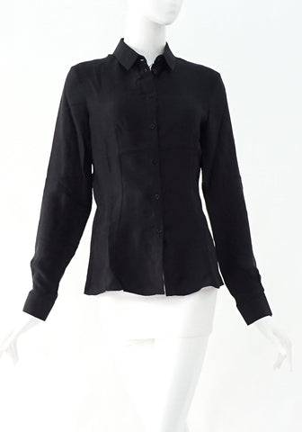 Emporio Armani Black Evening Blouse 38