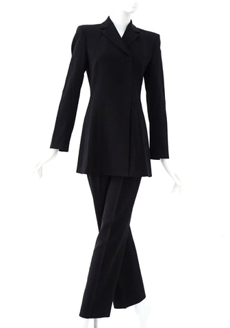 Emporio Armani Black Suit Set 38