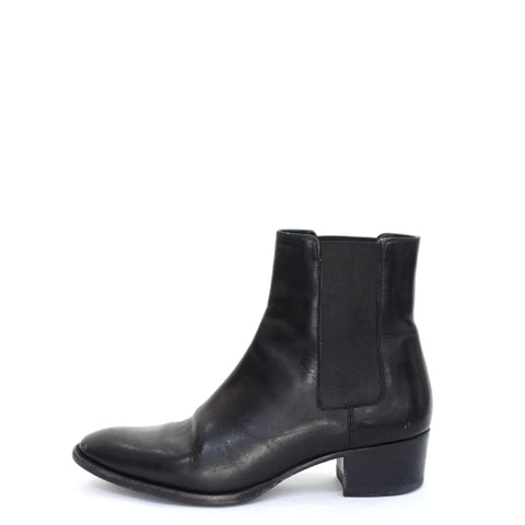 Saint Laurent Black Ankle Boots 36.5