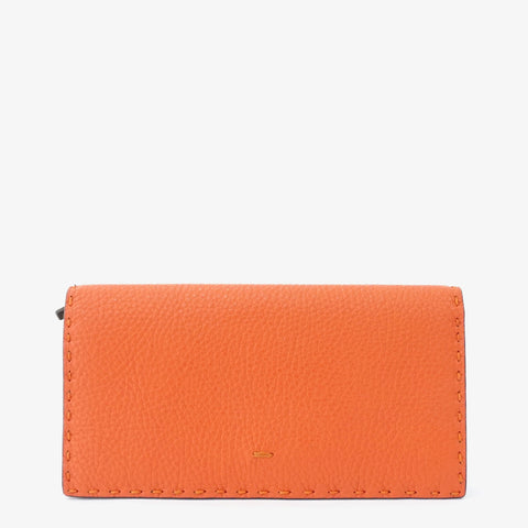 Fendi Orange Bifold Wallet